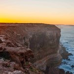 Nullarbor Cliffs morning sunrise