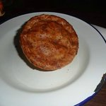 Fungi Chicken pie and mash