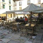 Terrazas en la plaza