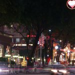 オーチャード通りのクリスマス電飾(2012年)