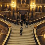 The Grand Staircase from a balcony on the upper floor