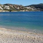 the compund as seen from Kalkan village beach