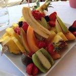 Assiette de fruit pour une personne...