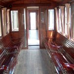 inside of the wagon