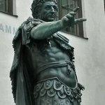 Kaiser Augustus, Namenspatron von Augsburg