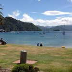 thats the view looking out from Le Cafe across beautiful Picton