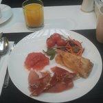 Deluxe breakfast.