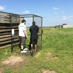 Shooting some Clay Pigeons