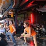 Mini-disco pour les enfants sur la scène