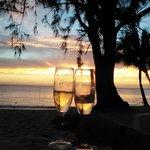 champagne sunset !!!