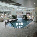 pool / spa area