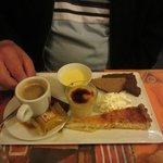 Dessert : Café Gourmand !!  copieux et délicieux