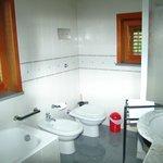 Il bagno della camera Gialla