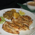 Grilled fillet of chicken