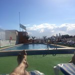 Roof terrace pool