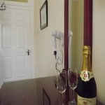 We have a range of drinks that you may purchas for your room.