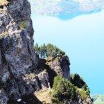 Im Aufstieg zum Niederhorn