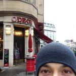 Кафе Одеон, где сиживал во время Первой Мировой войны Ленин