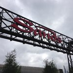 Sands Casino sign, re-purposing the old steel!