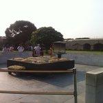 Ghandi cremation