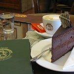 torta e cappuccino