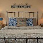 Deluxe queen bedroom in the main inn