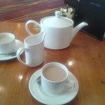 decent sized pot of tea