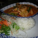 Red chicken curry - Spicy! !