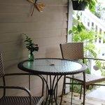 Poolside Room Porch