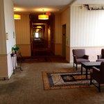 5th floor-nice, tall hallways & sitting area