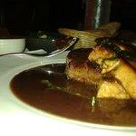 Pavé de boeuf au foie gras! Quel régal! La viande est fondante hhmmmm