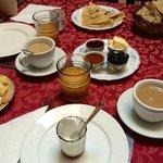 Desayuno en riad Marrakech