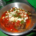One of our favourits - greek meatballs with tomato sauce and feta cheese was simply amazing
