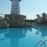 This is the main pool situated by the lighthouse. Beautiful place, 4 swimming pools in total.. L