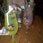 Cocktails in Novelty Glasses