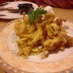 Calamares fritos al estilo Sa Parra