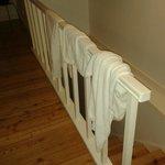 toallas tiradas