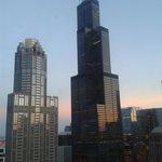 Sears Tower visible from room