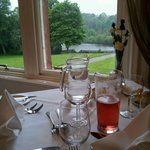 View of the river Tweed from the restaurant.