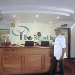 Receptie Eco Resort Inn