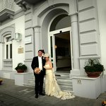 Sposi all'Hotel Mediterraneo
