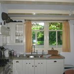 Our lovely kitchen at Maes B&B
