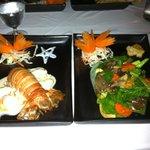 Le homard de Phuket au curry rouge! Un vrai délice!!!