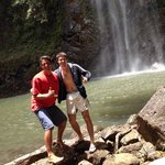 Me and Forest at the waterfall!
