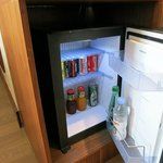 Complimentary mini-bar and coffee/tea