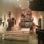 Capelinha da exposição de arte religiosa