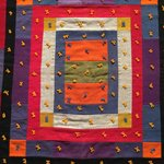 From Quilts and Color, a 1920 era quilt from Maine