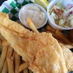 Fried Flounder Basket!