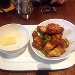 sticky wings appetizer
