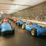 A huge number of racing cars